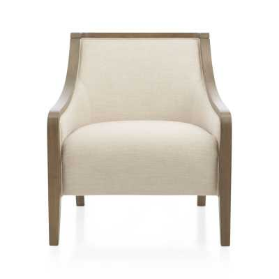Bryn Chair - Linen - Crate and Barrel