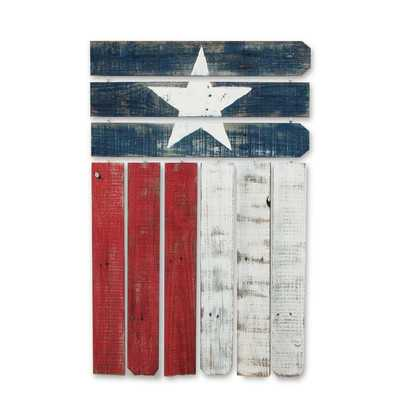 Natural Reclaimed Texas Flag Wall Decorby Recherche - Wayfair