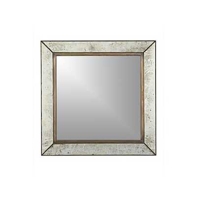 Dubois Large Square Wall Mirror - Crate and Barrel