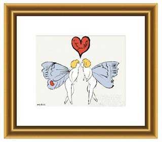 Warhol, I Love You So, c. 1958 - One Kings Lane