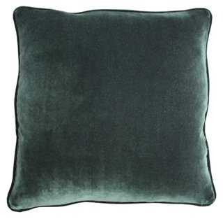 Chalan Velvet Pillow - One Kings Lane