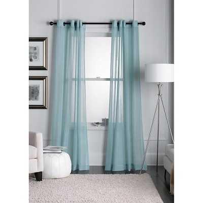 """Thresholdâ""""¢ Linen Grommet Sheer Curtain Panel - Target"""