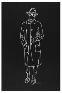 """Rankin Willard, Trench Coat- 12"""" x 18""""- Unframed - One Kings Lane"""