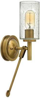"Hinkley Collier 17"" High Heritage Brass Wall Sconce - Lamps Plus"