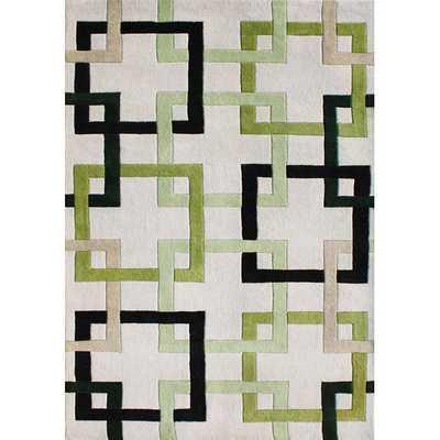 New Zealand Blend Wool Rug - Overstock