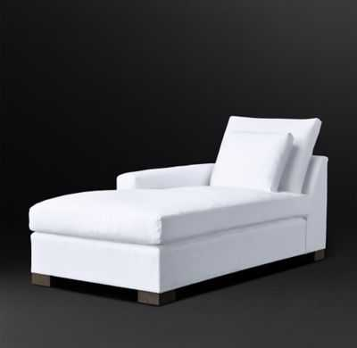 COLE FABRIC LEFT-ARM CHAISE - RH Modern