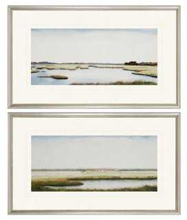 Marshlands I Diptych - Set of 2 - One Kings Lane