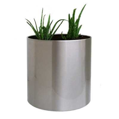 Round Pot Planter-medium - Wayfair