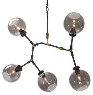 Corvus Pendant Lamp, Gray - One Kings Lane