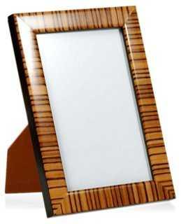 Zebra Frame, 8x10, Tan - One Kings Lane
