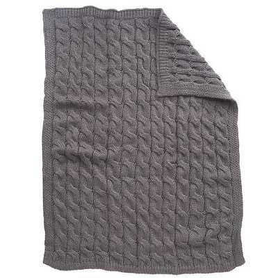 Koala Baby Chunky Cable Knit Blanket - toysrus.com