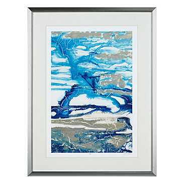 Glacial Stream 2 - Limited Edition 25.5x33.5 framed - Z Gallerie