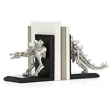 Stegosaurus Bookends - Z Gallerie