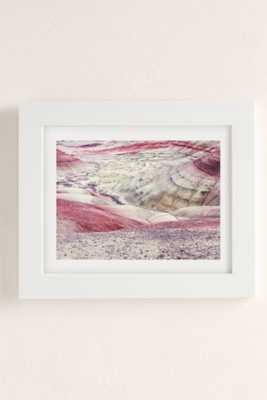 Christina Hicks Painted Hills Art Print-18x24-Framed - Urban Outfitters