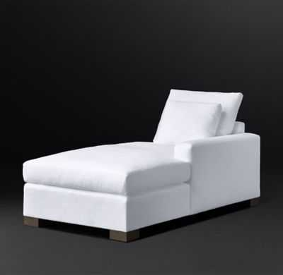 COLE FABRIC RIGHT-ARM CHAISE - RH Modern