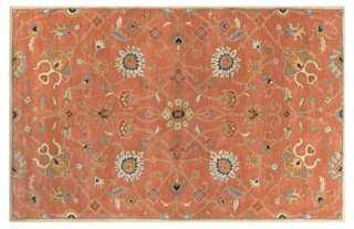 Javan Rug, Rust, 10' x 14' - One Kings Lane