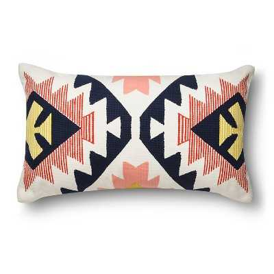 "Room Essentialsâ""¢ Southwest Lumbar Pillow - insert included - Target"