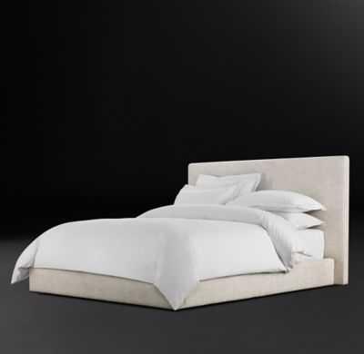 SULLIVAN FABRIC PLATFORM BED-KIng - RH Modern