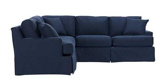 BECKETT SLIPCOVERED SECTIONAL - Home Decorators