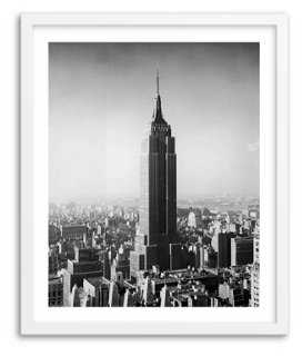 "New York Skyline circa 1955-20"" x 24""-Framed - One Kings Lane"