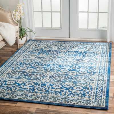 nuLOOM Traditional Persian Vintage Dark Blue Rug - Overstock