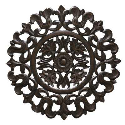 Carved Wood Wall Panel - Target
