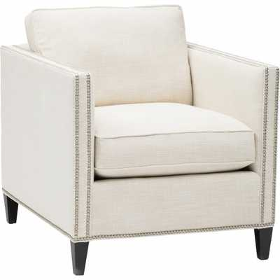 Pierce Chair, Devote Cream - High Fashion Home