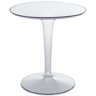 CANVAS SIDE TABLE IN CLEAR - Modway Furniture