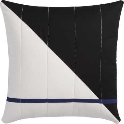 quilted pillow - CB2