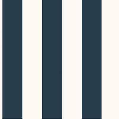 Ashford Stripe Foiled Wallpaper - Wayfair
