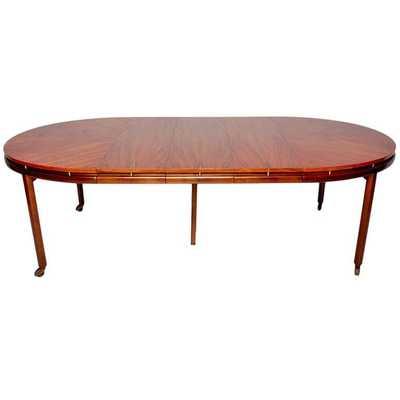 Oval Dining Table - 1st Dibs