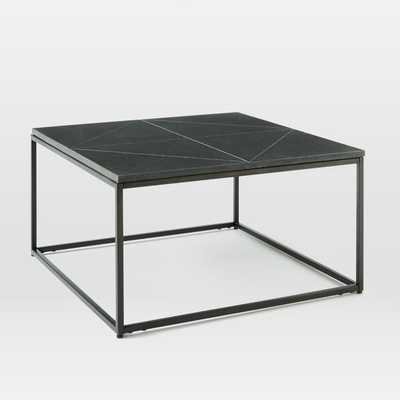 Etched Granite Side Table - West Elm