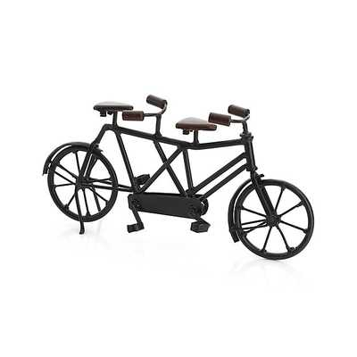 Miniature Tandem Bicycle - Crate and Barrel