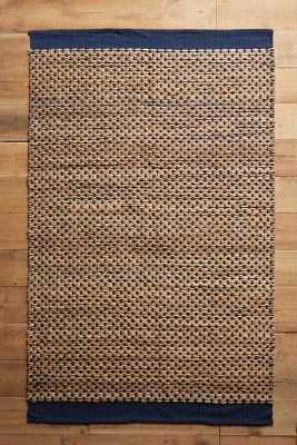 Raw-Edged Flatweave Rug - Anthropologie