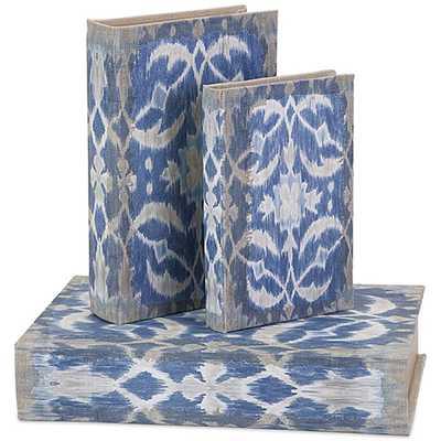 Dean Book Boxes, Set of 3 - High Fashion Home