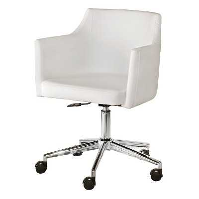 Baraga Home Office Swivel Desk Chair - White - Signature Design by Ashley - Target