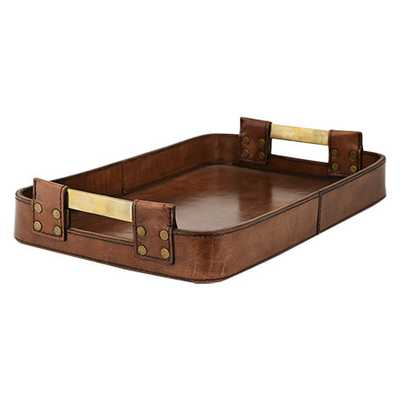ANDRES LEATHER TRAY - Arhaus