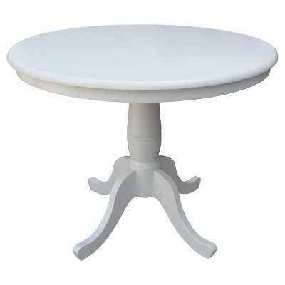 "36"" Round Pedestal Dining Table - Target"