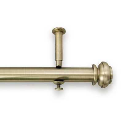 Bold Pole Adjustable Curtain Rod - brookstone.com