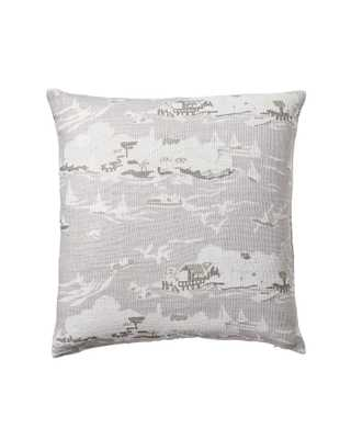 """Skylake Toile Pillow Covers - Bone - 20""""SQ - Insert sold separately - Serena and Lily"""