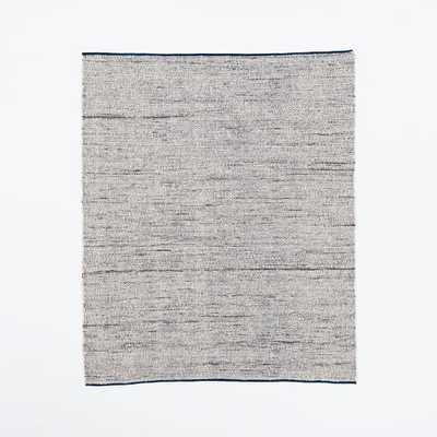 Plain Weave Sweater Wool Rug - Midnight - 9' x 12' - West Elm