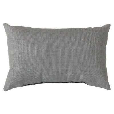 """Strahlhorn Solid Toss Pillow 13"""" x 20"""" - insert - Target"""