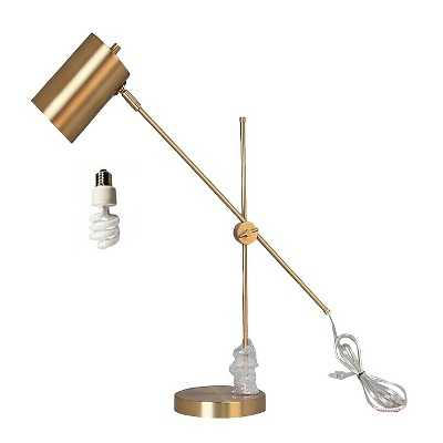 Brass Task Lamp with Cylinder Shade - Target