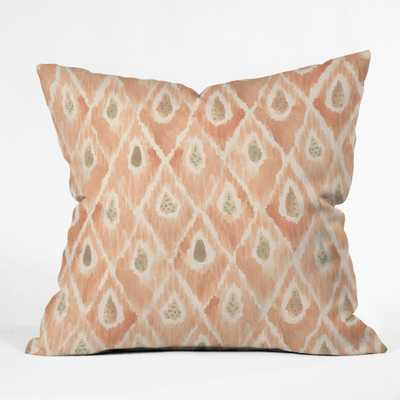 """CATCH ME Throw Pillow-20""""sq.-with insert - Wander Print Co."""