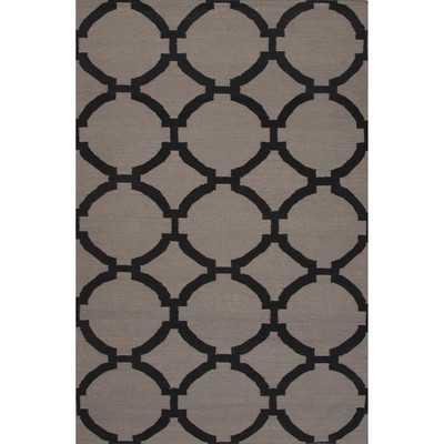Maroc Wool Flat Weave Area Rug - 5' x 8' - Wayfair