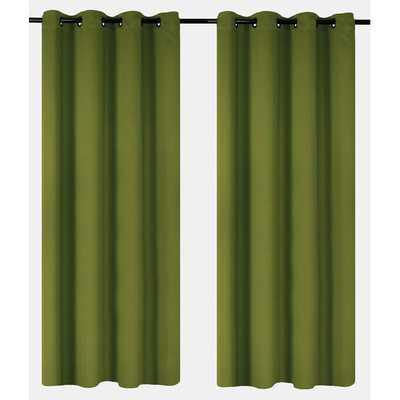 Luxura Light Reducing, Insulating Grommet Curtain Panels - AllModern