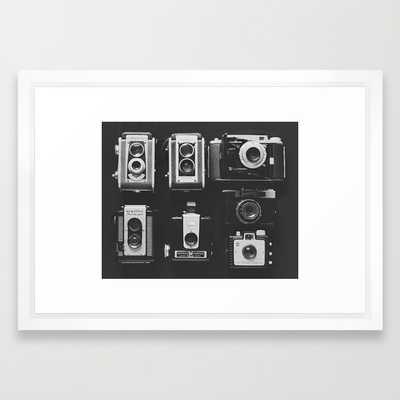 "The Vintage Family - 21"" x 15"" - Framed - Society6"