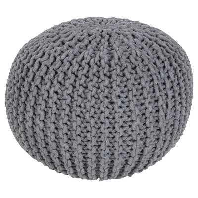 Alexia Sphere Pouf - Gray - Target