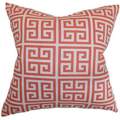 Paros Greek Key Throw Pillow - AllModern