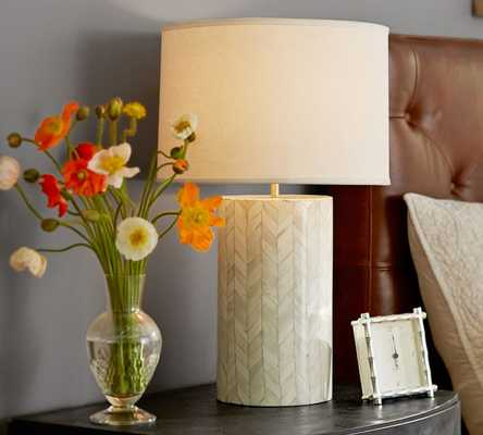Jordan Bone Inlay Table Lamp Base - Pottery Barn